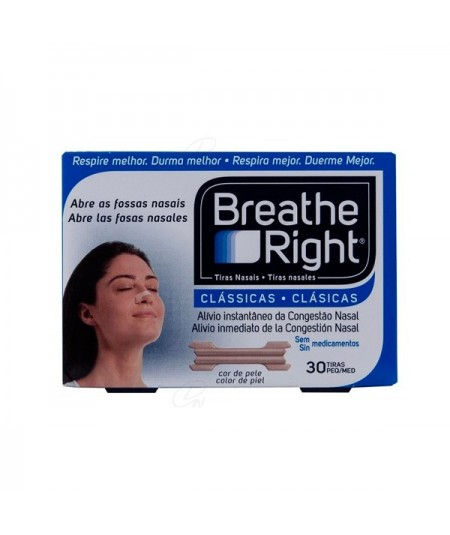BREATHE RIGHT COLOR T- PEQ-MED 30 U