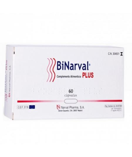 BINARVAL PLUS 760 MG 60 CAPS