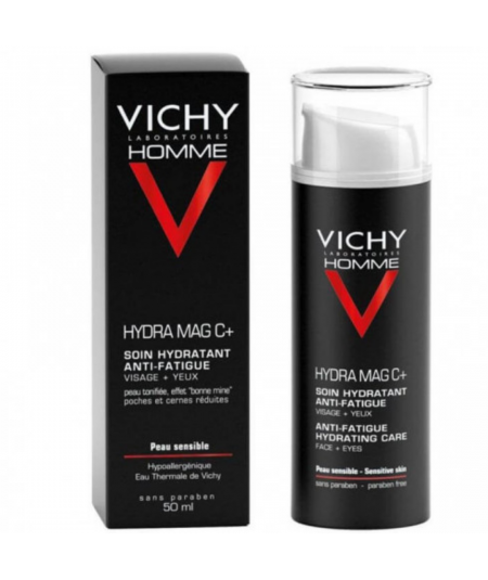 VICHY HOMME TTO HIDRATANTE 24 H FORTIFICANTE 50 ML