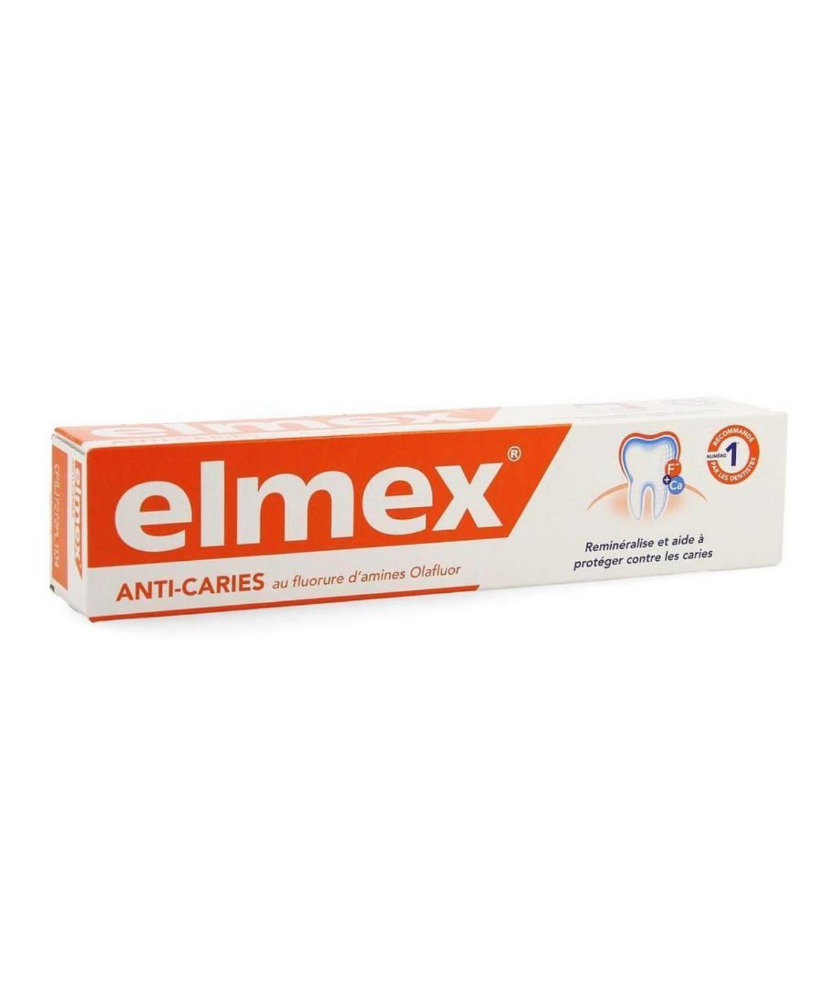 ELMEX  PROTECCION CONTRA LA CARIES PASTA DENTAL 75 ML