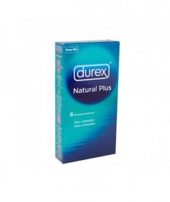 DUREX NATURAL PLUS 6 U