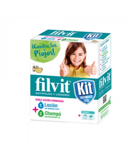 FILVIT LOCION + CHAMPU KIT 100 ML + 100 ML