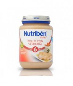 NUTRIBEN POLLO CON VERDURAS POTITO JUNIOR 200 G
