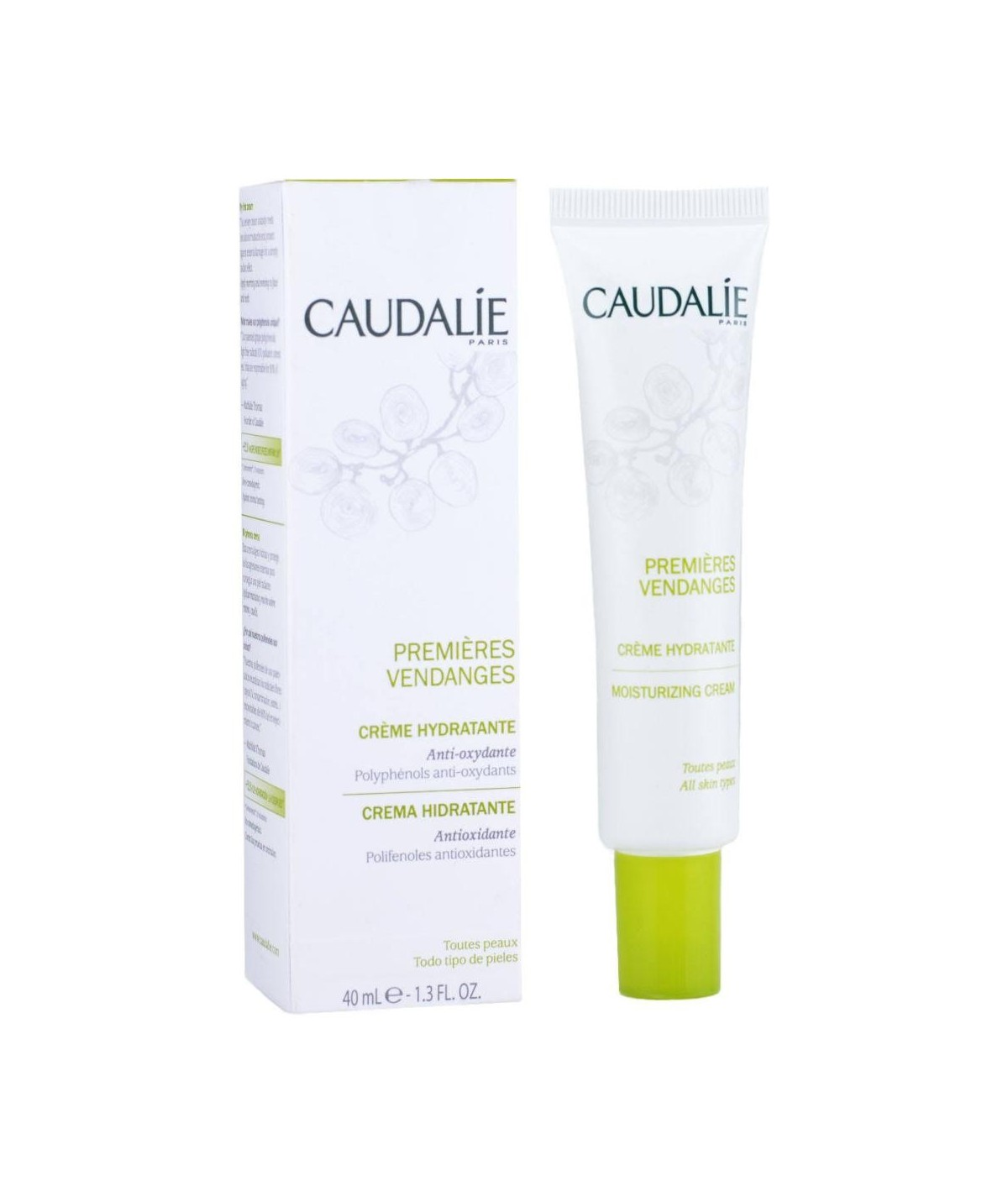 Caudalie Hidratante PREMIERES Vendanges Crema, 40 ml
