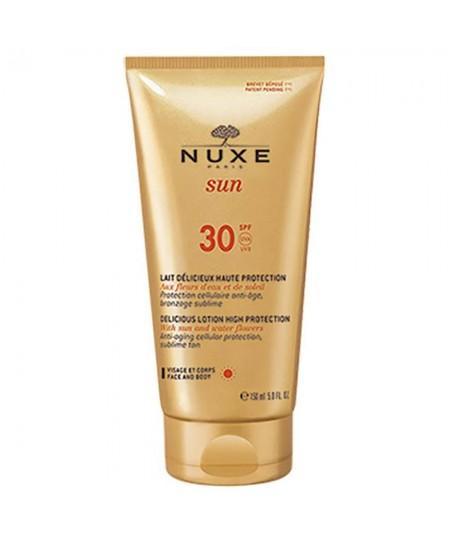 Nuxe Sun Leche Deliciosa Rostro y cuerpo SPF30 150 ml