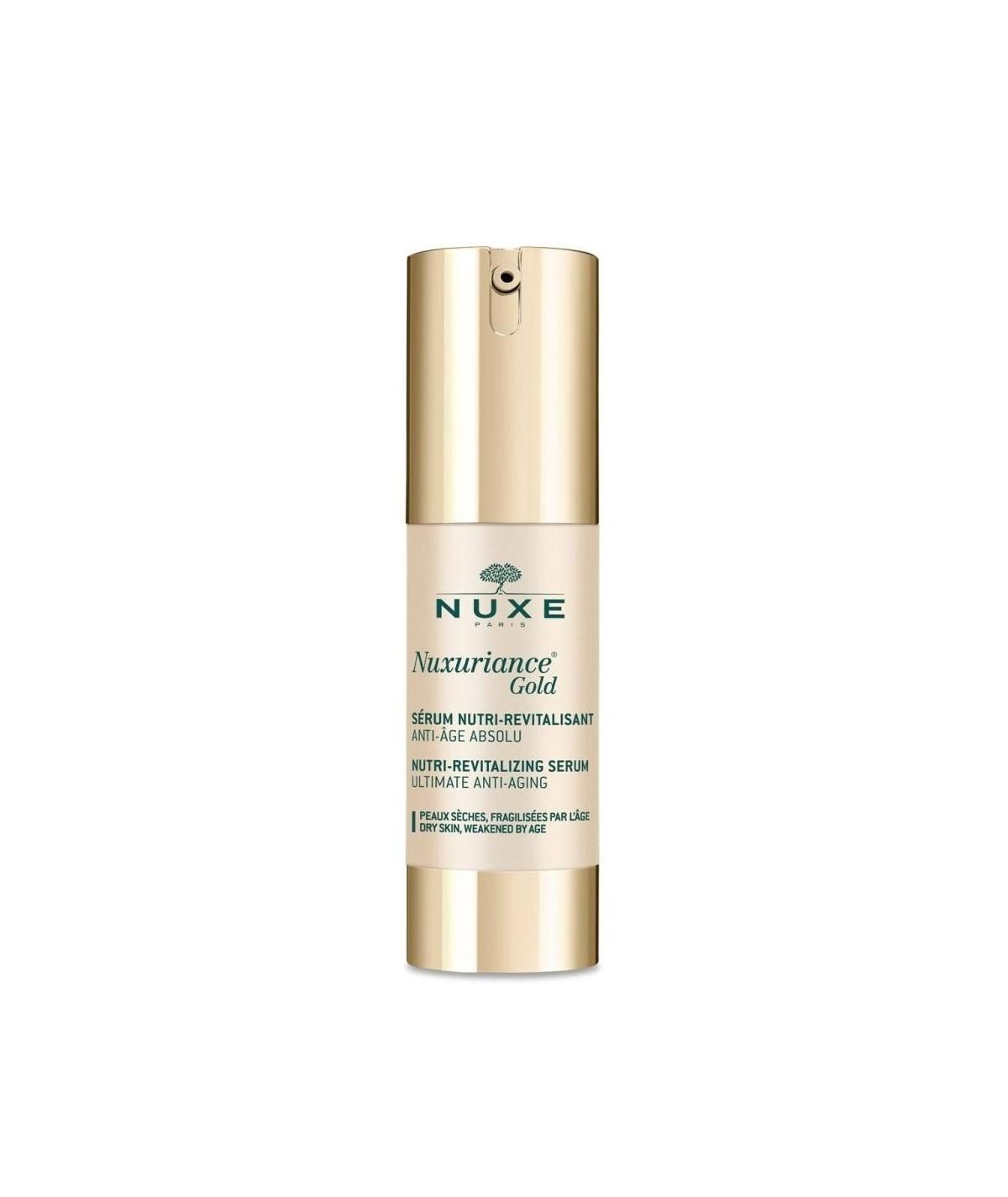 Nuxe Nuxuriance Gold Sérum Nutri-Revitalizante 30 ml