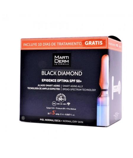 Martiderm Black Diamond Epigence Optima SPF50+ 30+5 Ampollas Gratis