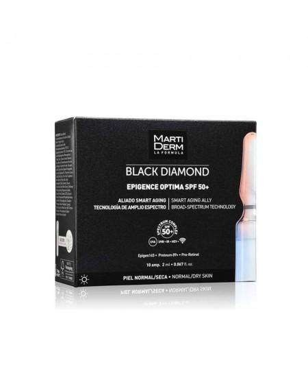 Martiderm Epigence Optima SPF 50+  Black Diamond 10 Ampollas
