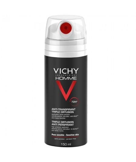 Vichy Homme Desodorante Triple Difusión 150ml