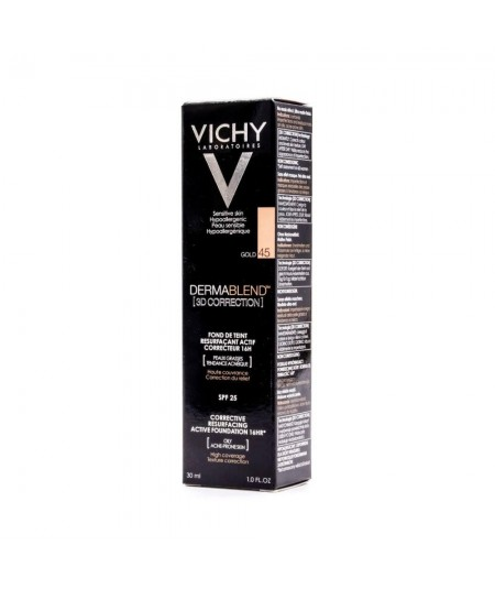 Vichy Dermablend 3D Correction Gold 45 30 ml