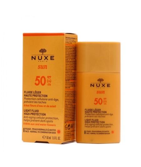 NUXE SUN FLUIDO LIGERO SPF50+