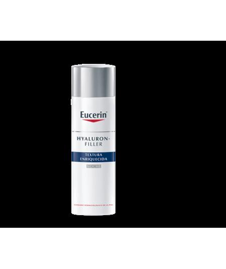 Eucerin Hyaluron – Filler Textura Enriquecida Crema de Noche