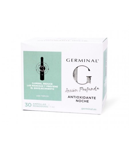 GERMINAL ACCIÓN PROFUNDA ANTIOXIDANTE NOCHE 30 AMP
