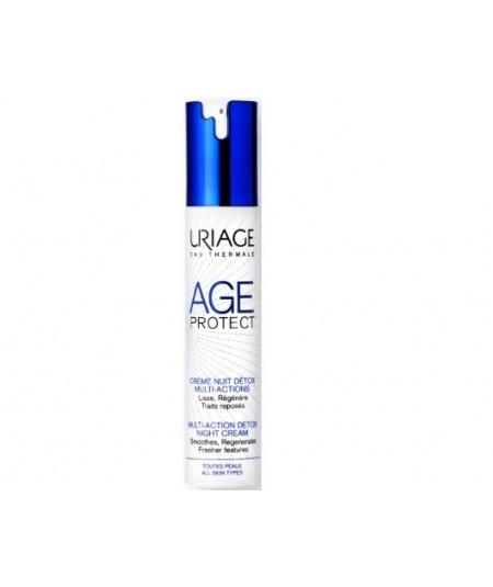Uriage Age Protect Crema Noche Detox 40ml