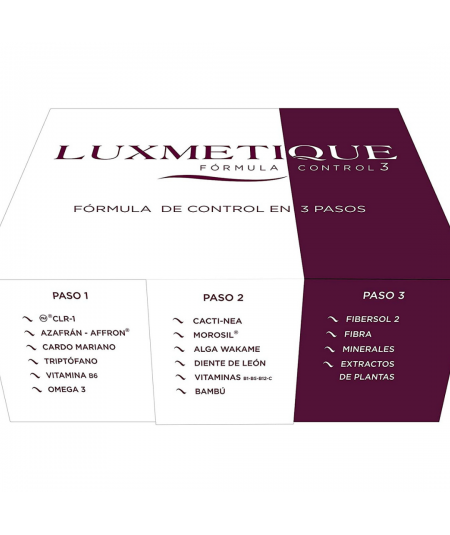 LUXMETIQUE FÓRMULA CONTROL 3
