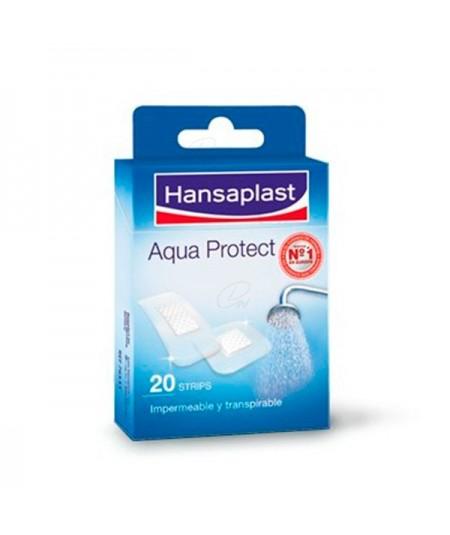 HANSAPLAST MED AQUA PROTECT CON GASA 6 X 7 CM  5 U