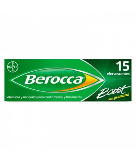 BEROCCA BOOST COMP EFERVESC 15 COMP