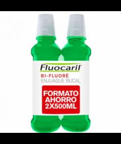 FLUOCARIL BI-FLUORE COLUTORIO CON FLUOR PACK 500 ML 2U