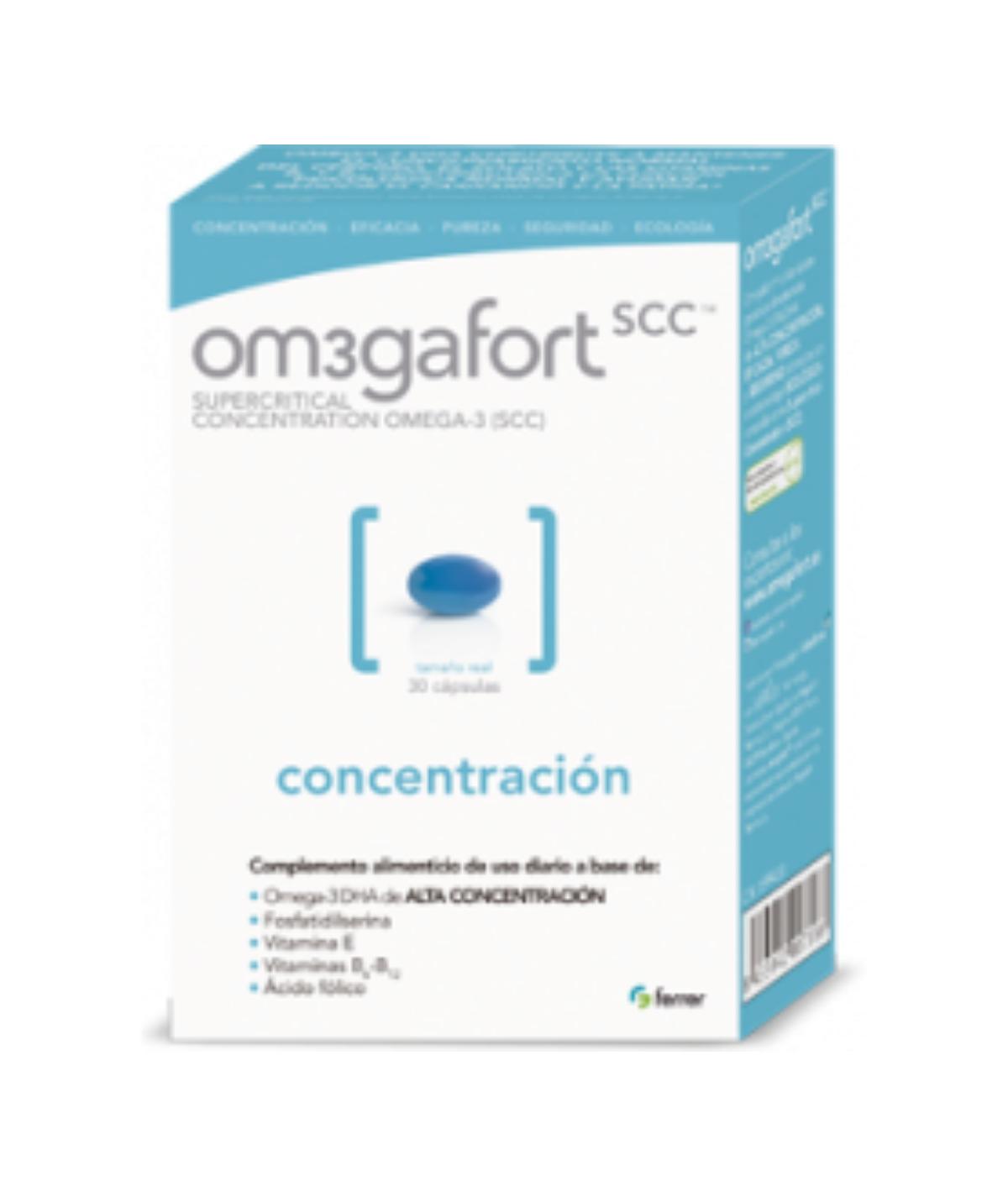 OM3GAFORT CONCENTRACION 30 CAPS