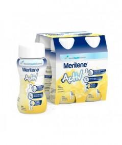 MERITENE ACTIV 125 ML 4 BOTELLAS VAINILLA