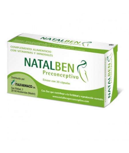 NATALBEN PRECONCEPTIVO 30 CAPS