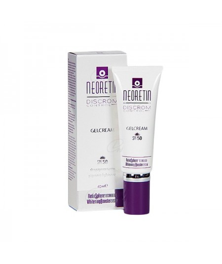 Neoretin gel cream spf 50 discrom control