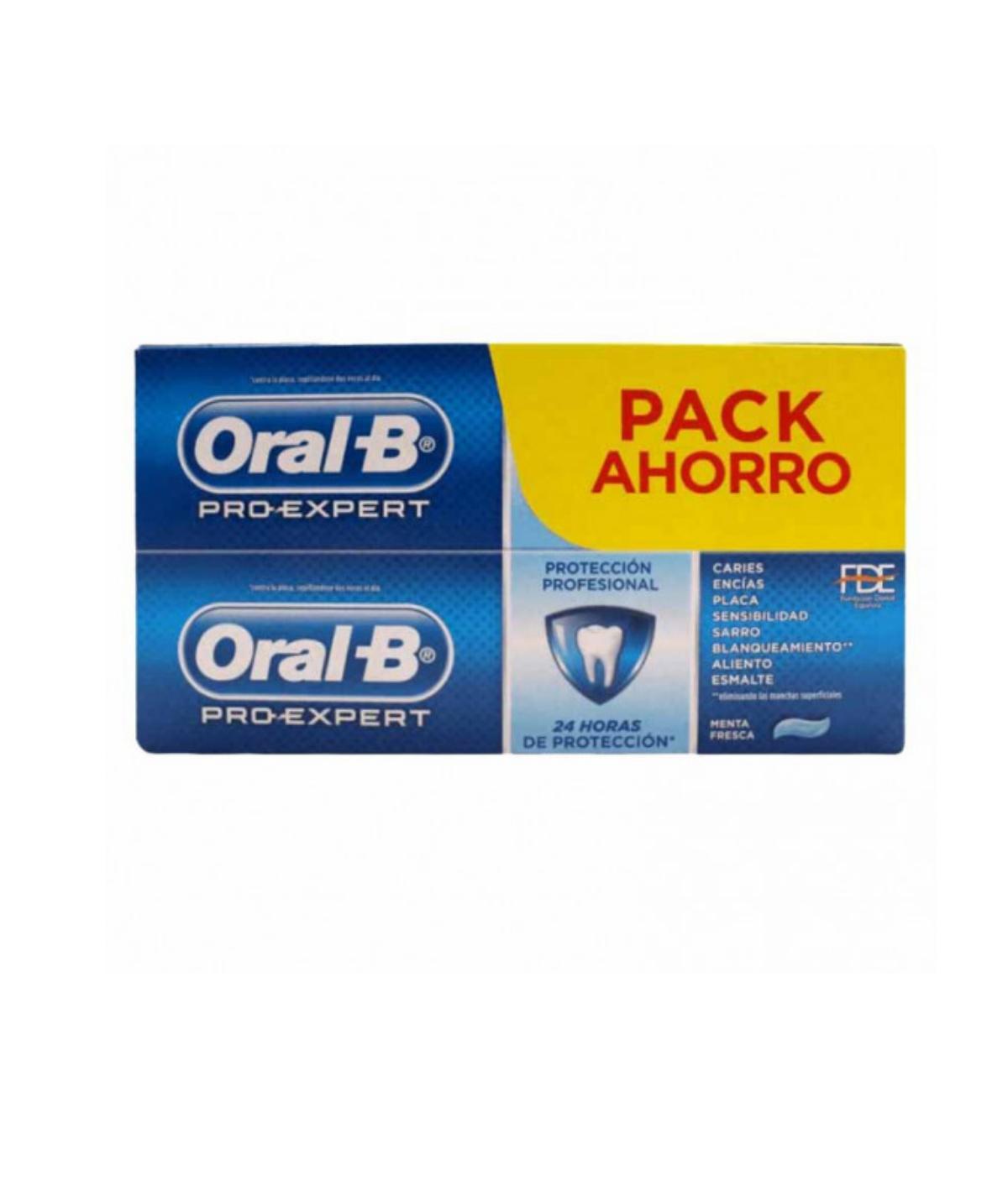 ORAL-B PRO EXPERT MULTI PROTECCION 125 ML 2 U