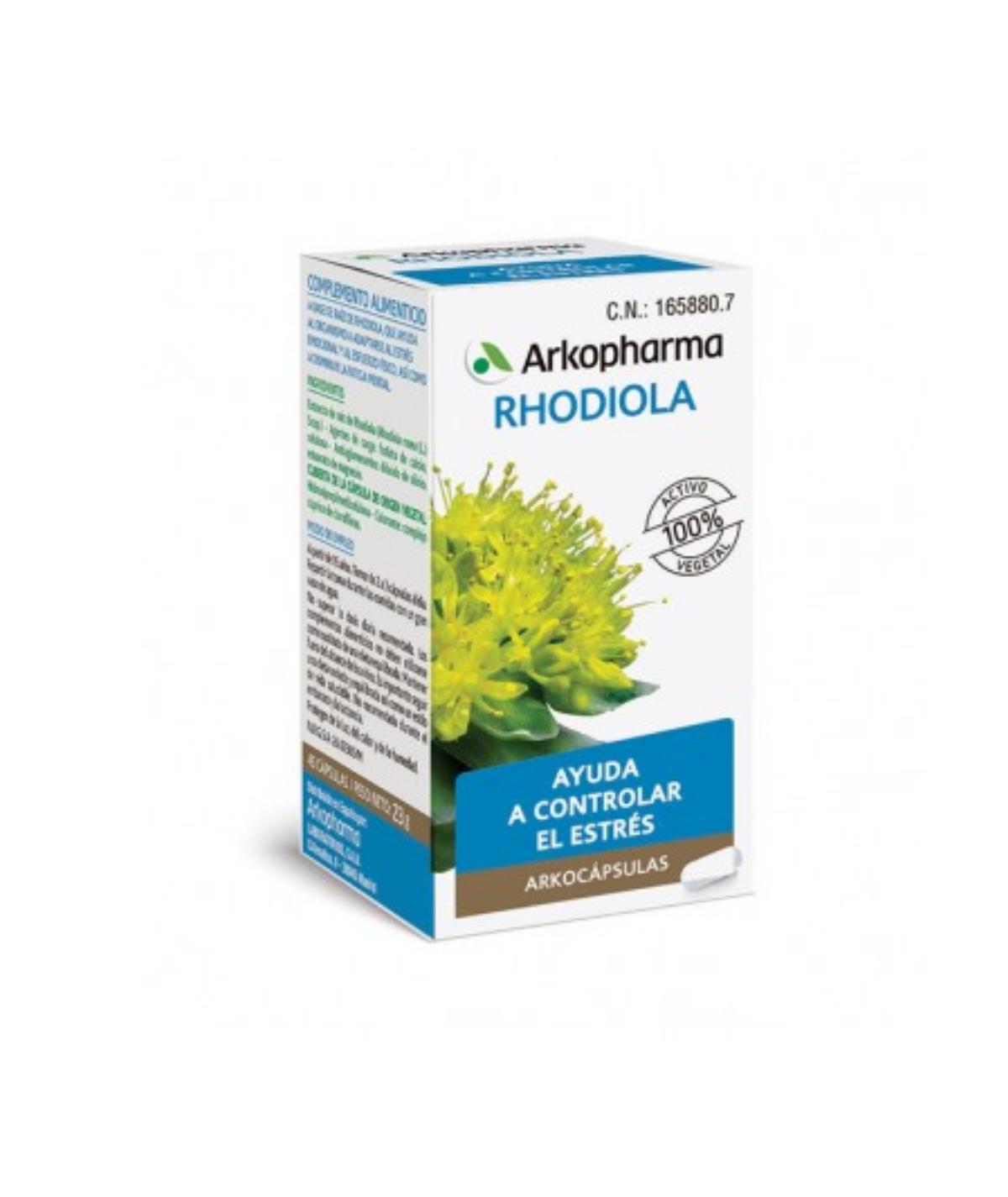 RHODIORELAX ARKOCAPS RELAJACION 45 CAPS
