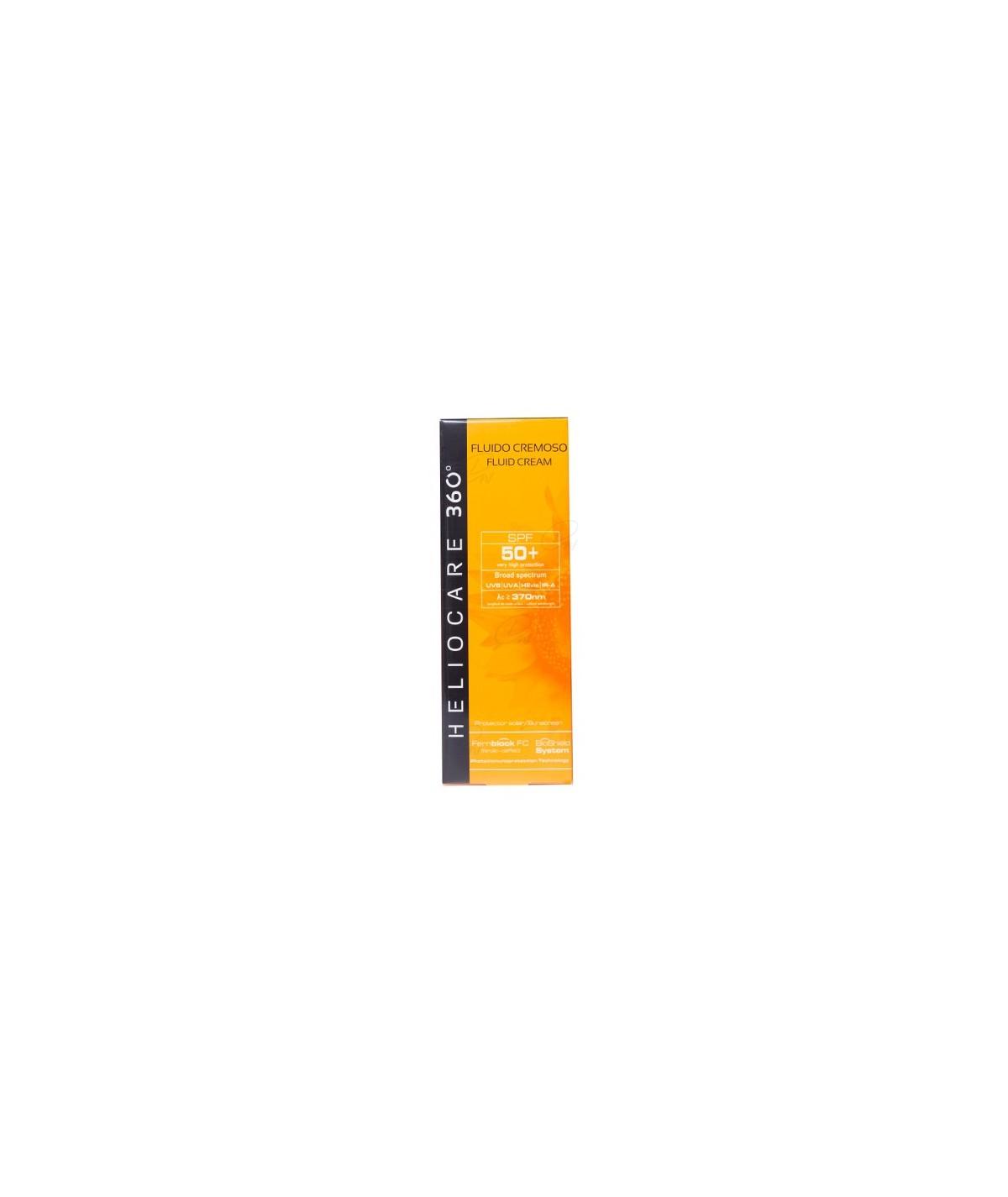HELIOCARE 360º SPF 50+ FLUIDO CREMOSO SUNSCREEN 50 ML