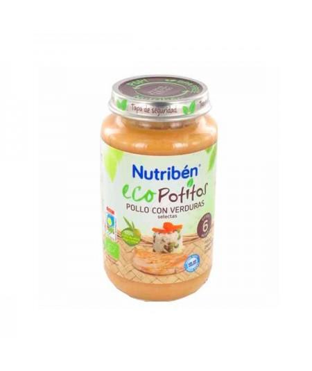 NUTRIBEN ECO POTITO POLLO CON VERDURAS SELECTAS 250 G