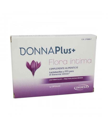 DONNA PLUS+ FLORA INTIMA 14 CAPS