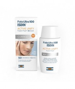 FOTOPROTECTOR ISDIN 100+ FUSION FLUID 50 ML ACT UNIF
