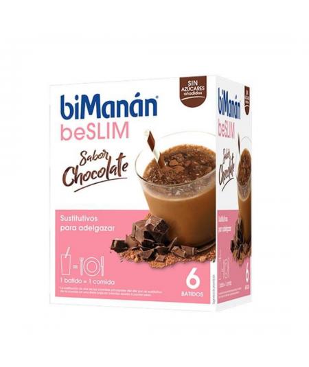 BIMANAN BATIDO CHOCOLATE 300g 300G (6 sobres de 50 g)