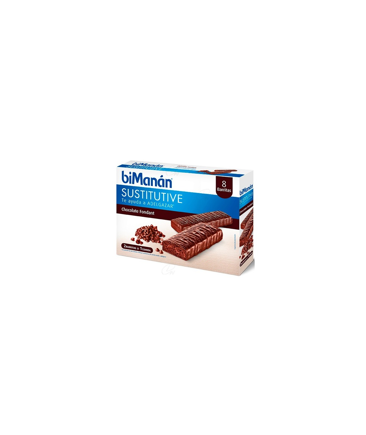 BIMANAN BARRITA CHOCOLATE NEGRO FONDANT 40 G 320 G 8 BAR