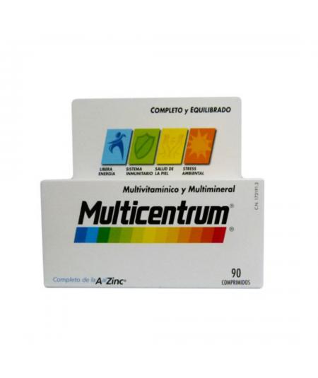 MULTICENTRUM VITAMINAS Y MINERALES 90 COMP