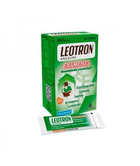 LEOTRON EXÁMENES RENDIMIENTO INTELECTUAL 20 SOBRES