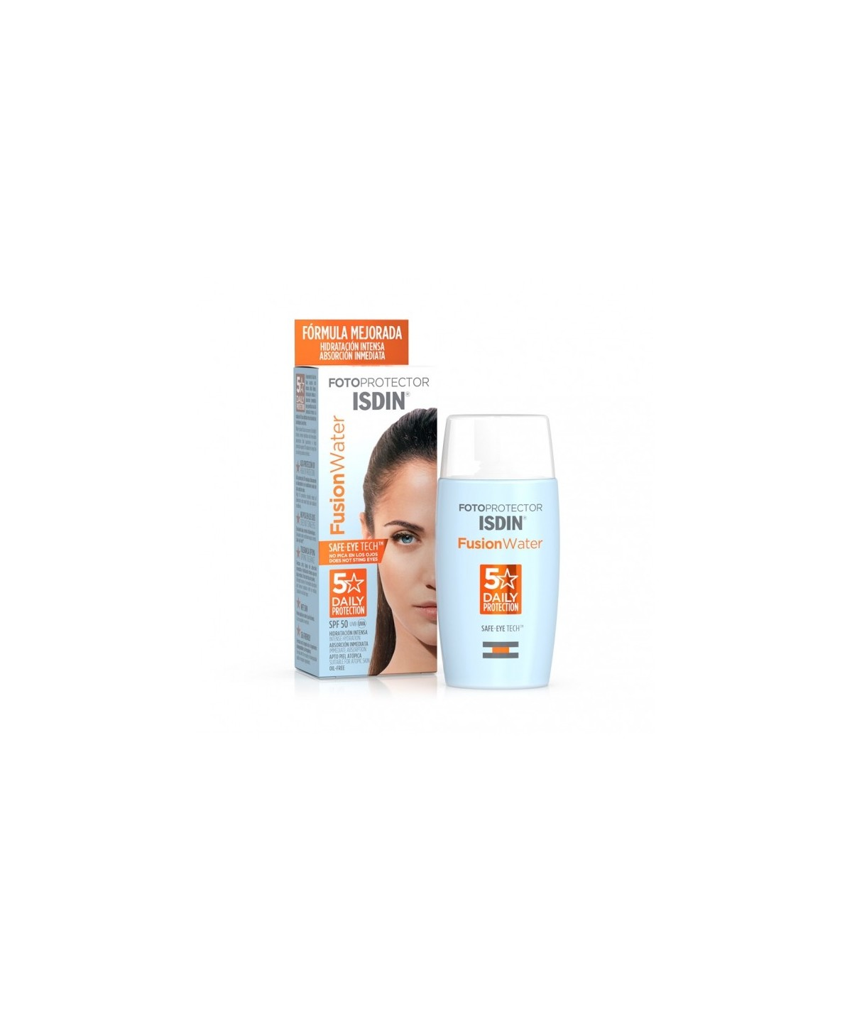 Isdin Fotoprotector Fusion Water 50+ 50 ml