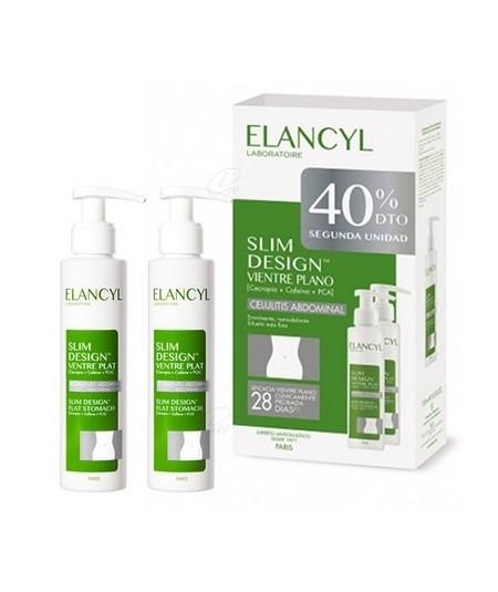 ELANCYL PACK DUPLO SLIM DESIGN VIENTRE PLANO 150 ML 2 UNID