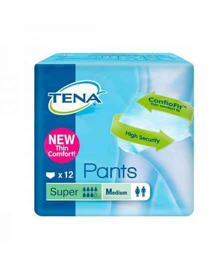 ABSORB INC ORINA LIGERA TENA PANTS SUPER T – MED 12 U