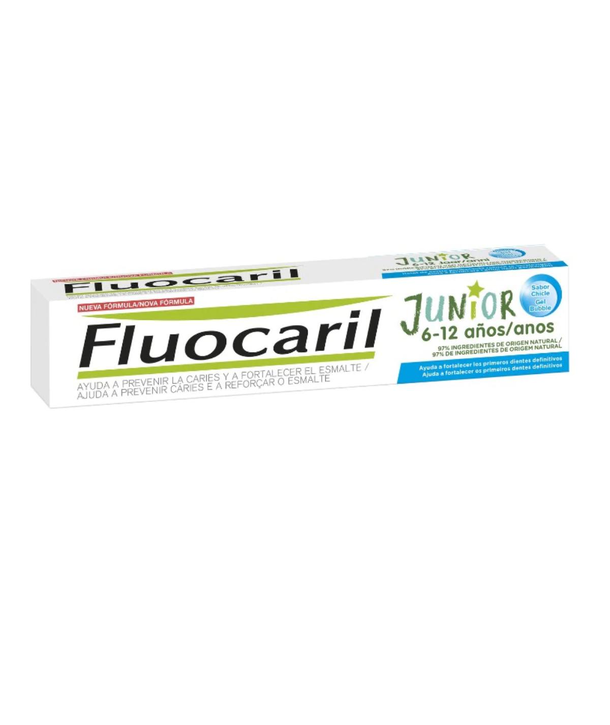 Fluorcaril Junior 7-12 Años Gel 50ml Bubble