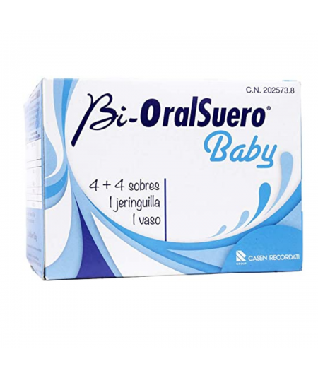 Bioral Suero Baby 4 Sobres