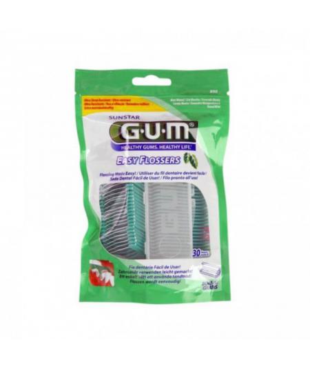GUM- 890 EASY FLOSSERS APLICADOR 30 U